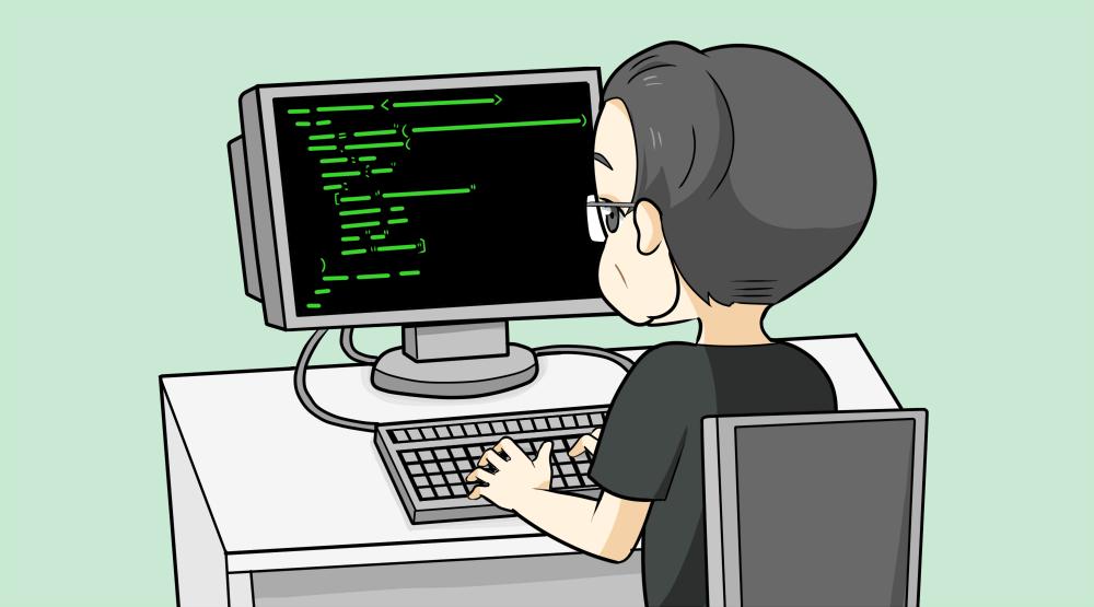 転職サイトを検索するエンジニア