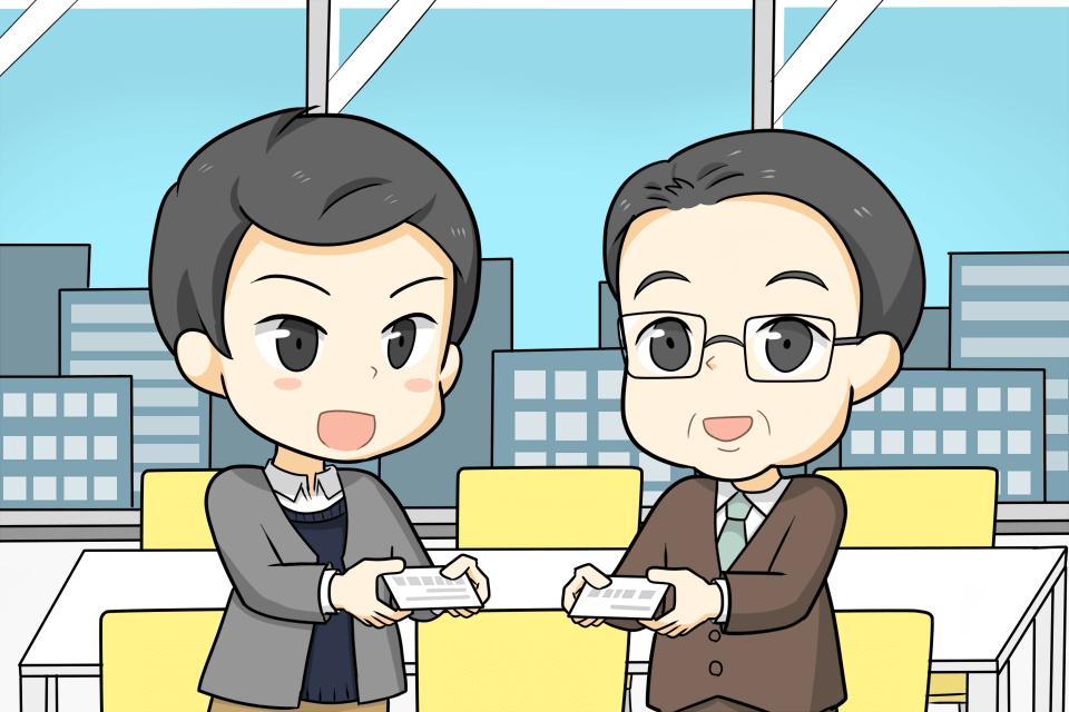 営業職の男性