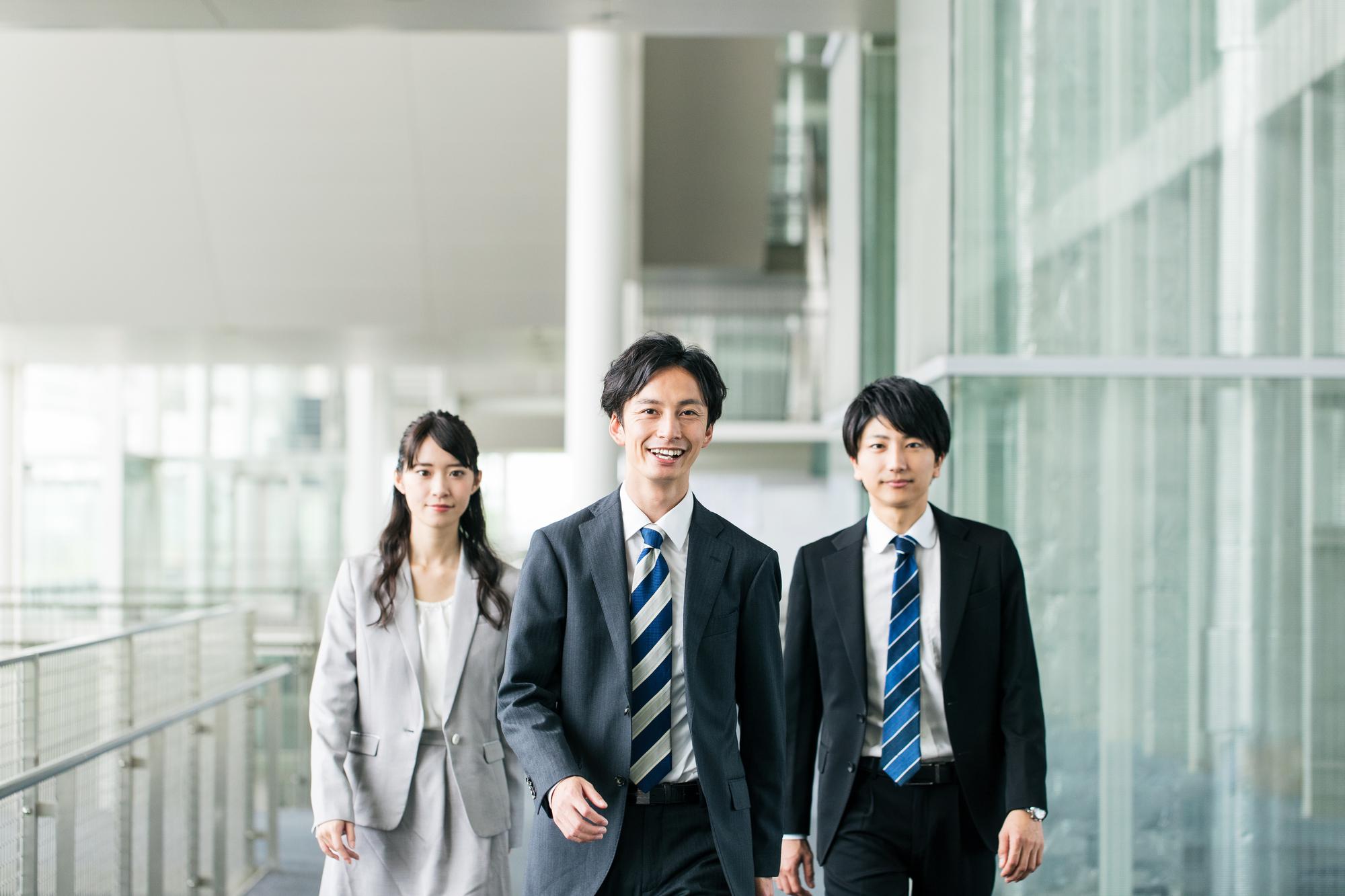 第二新卒ビジネスマンの写真
