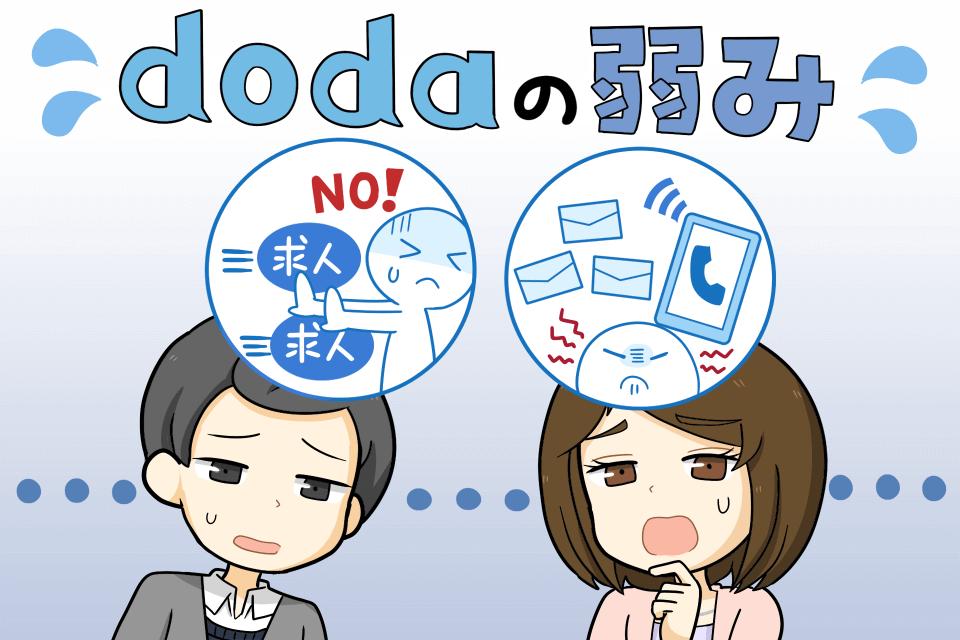 dodaの悪い評判・口コミ