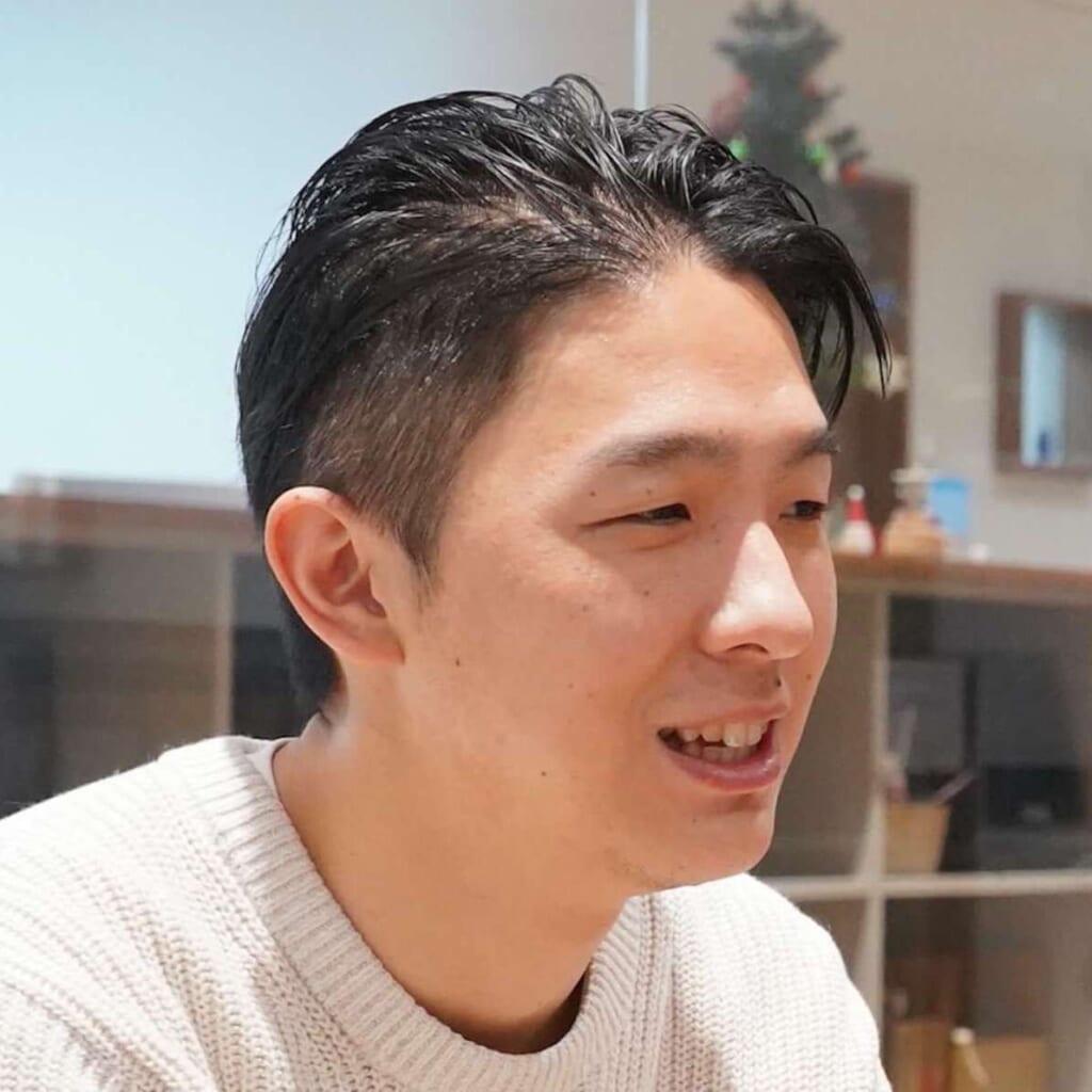 ネットプロテクションズ 揚田さんの近影写真
