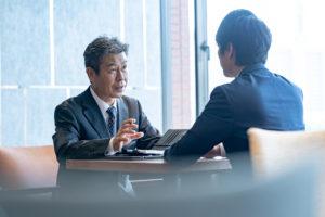 転職エージェントと面談する第二新卒
