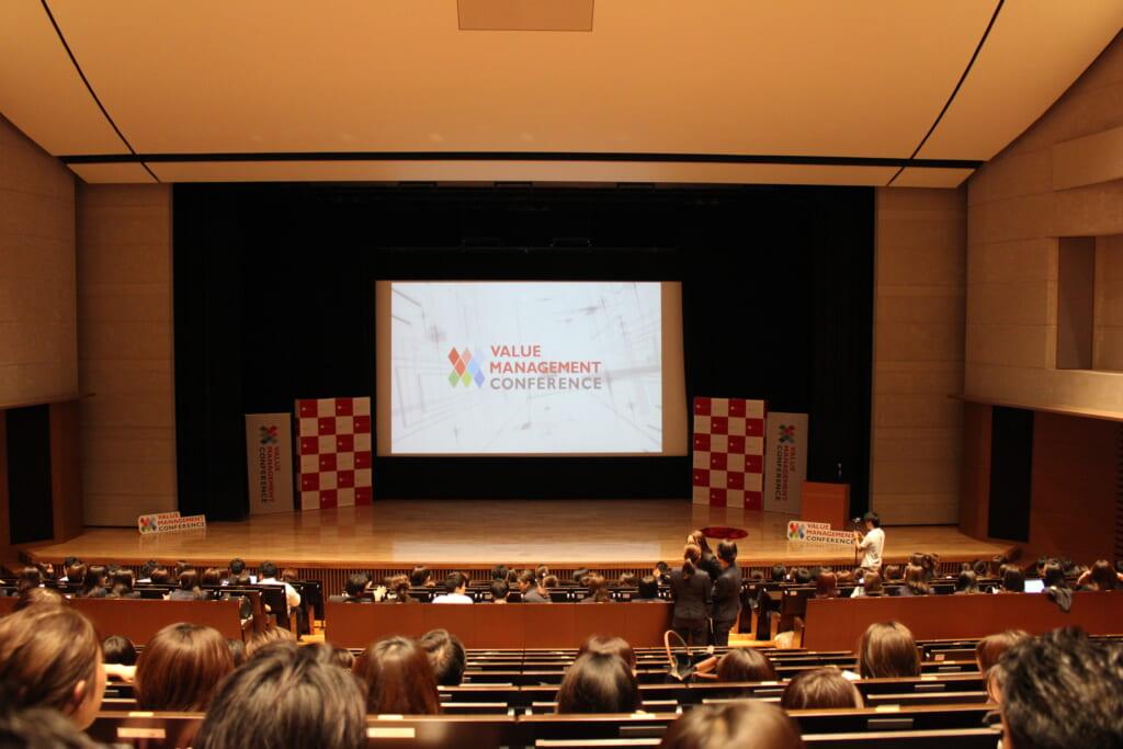 バリューマネジメント株式会社のプレゼンテーション大会の様子