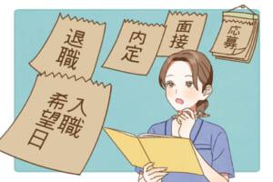 看護師の転職スケジュール