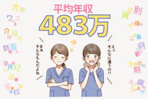 看護師の給料、いくらもらってる?平均年収から高給病院ランキングまですべて紹介!