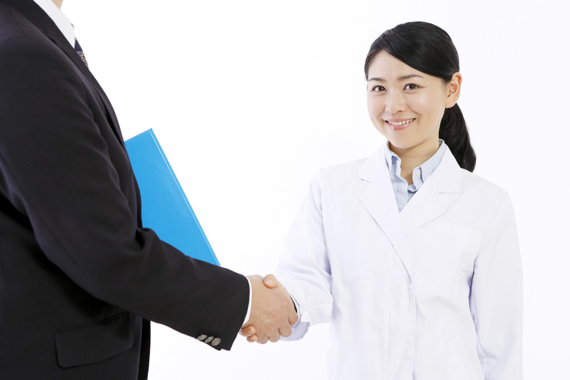 薬剤師 転職エージェント 握手
