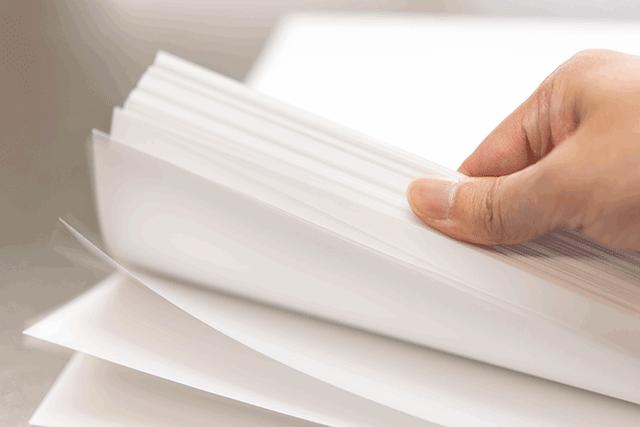職務経歴書の用紙サイズはA4で決まり!