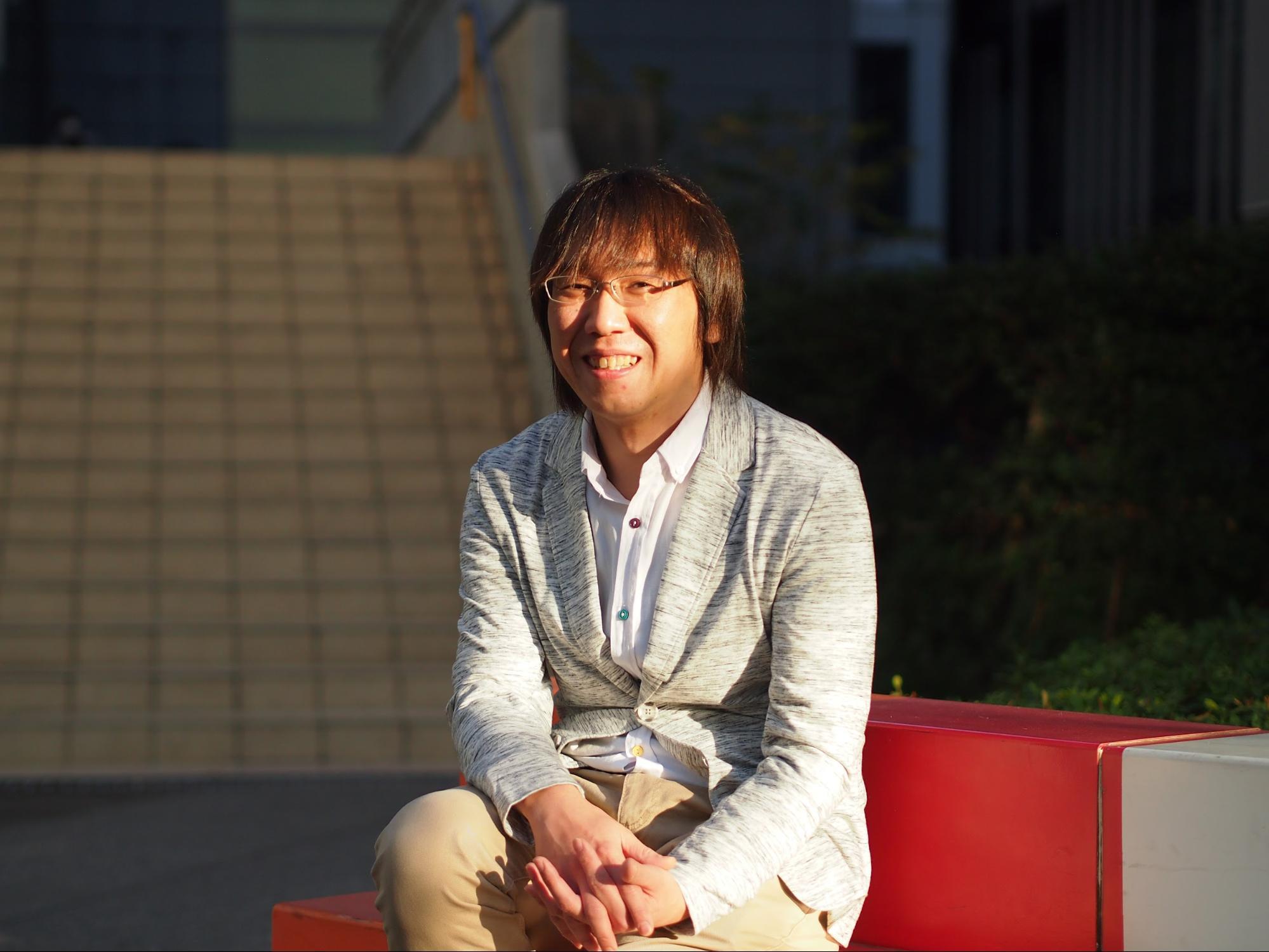 岩崎さんの近影写真