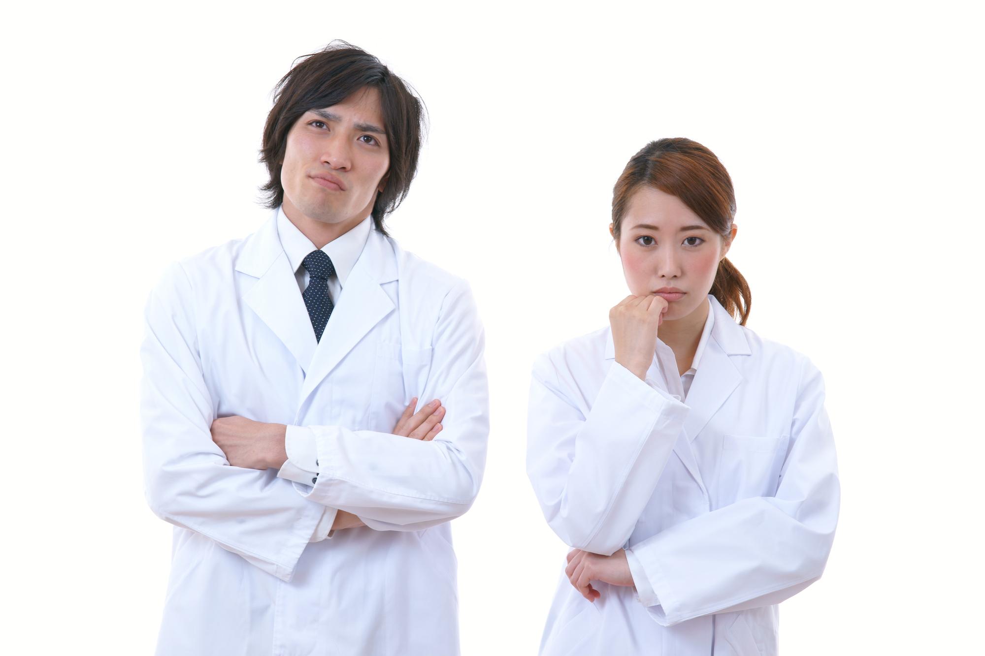 人間関係に悩んでいる薬剤師